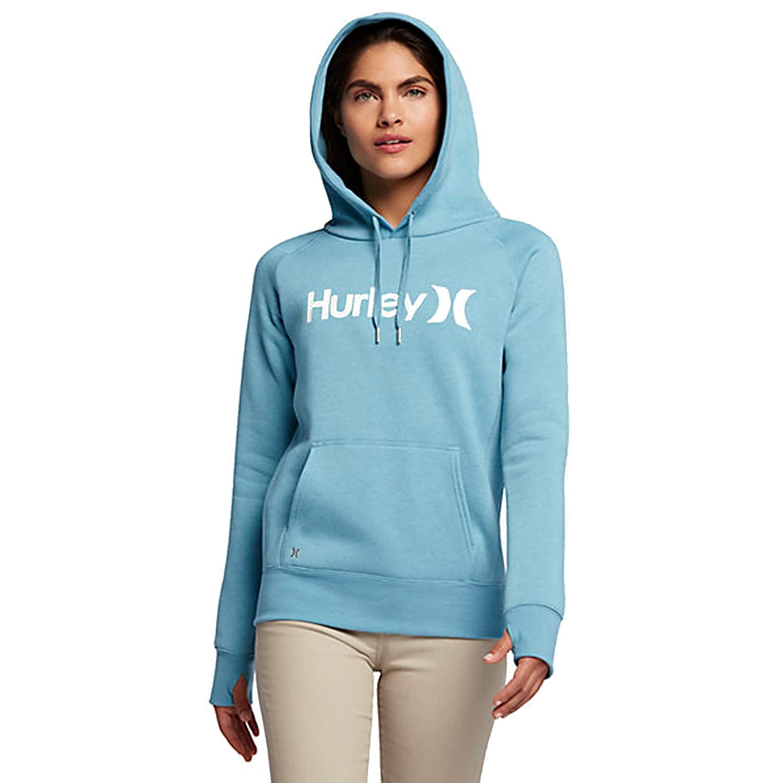 Amazon Hurley Women s e and ly Fleece Pullover Hoo Clothing