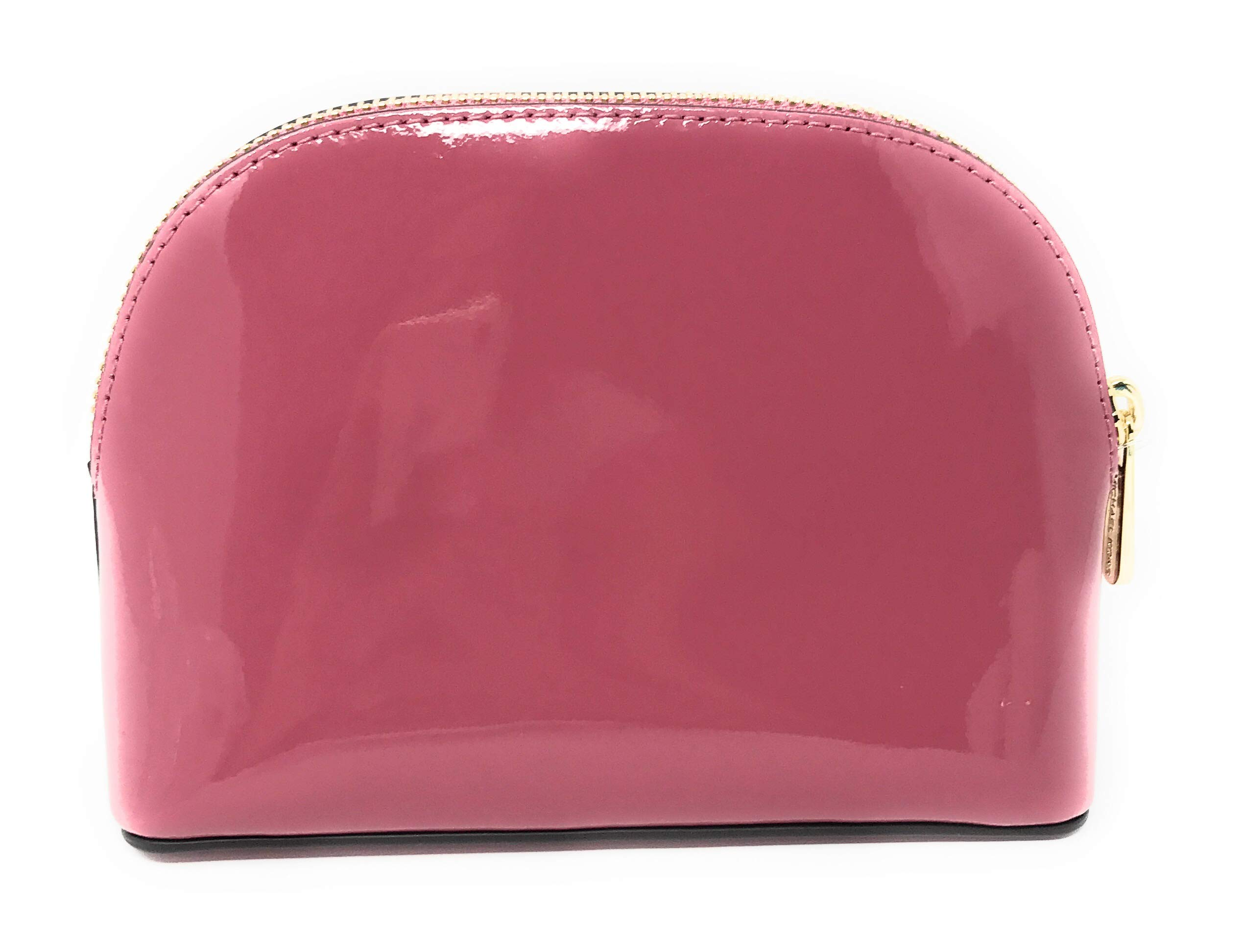 Michael Kors Jet Set Travel Patent Leather Cosmetic Travel Pouch (Tulip) by Michael Kors (Image #3)