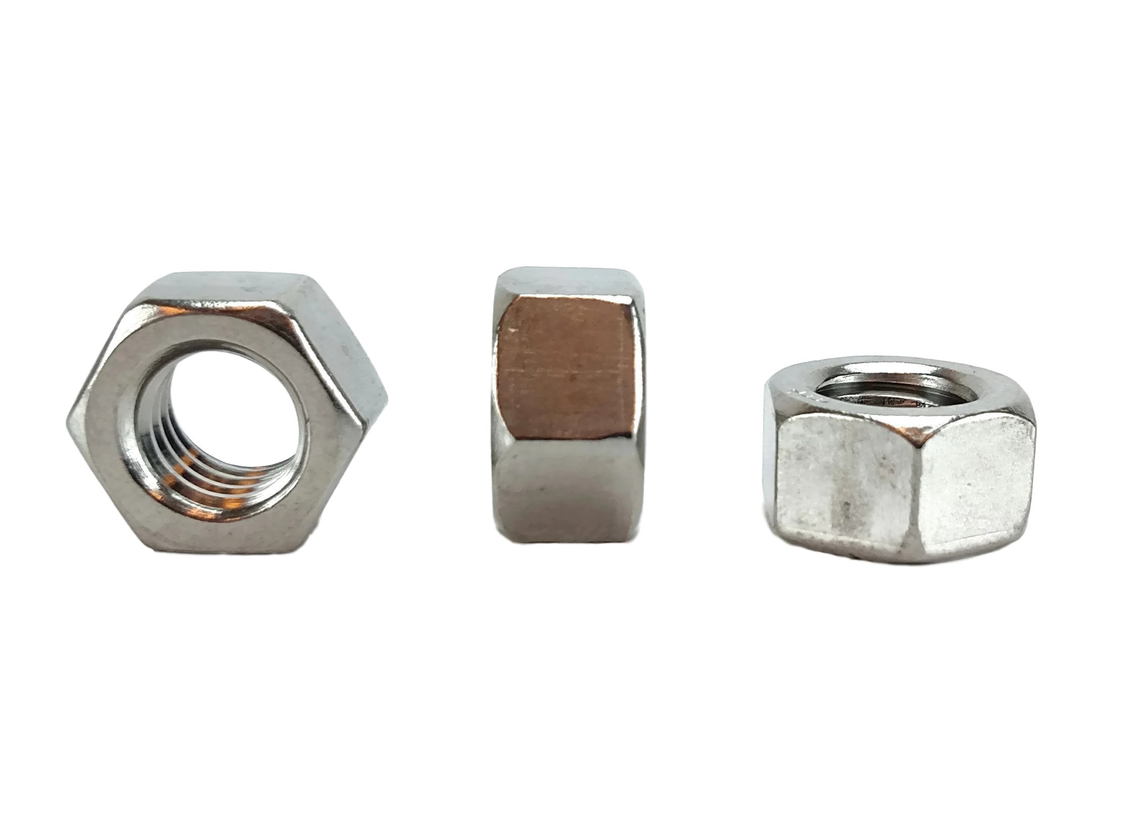Stainless 3/8-16 USS Hex Nut,(More selections in Listing!) 304 Stainless Steel (3/8-16 HEX NUTS (50 PCS)) by Chenango Supply (Image #2)