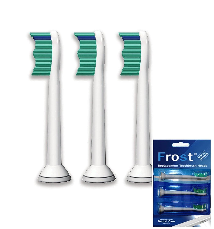 Frost® Generic compatible 3 X Recambio para Cepillo eléctrico Compatible y en forma Oral compatibile 6013 & 6016 Sonic Results Pro , Care-Flex, ...