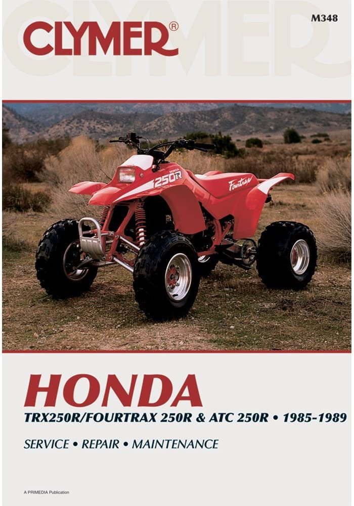 TRX250R 1986 1987 1988 1989 Honda 250 250R ATV Service Workshop Manual