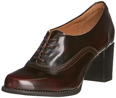 Clarks Tarah Victoria, Damen Pumps, Rot (Burgundy Leather), 36 EU (