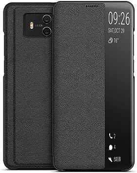 EUDTH Funda Huawei Mate 10, Smart View Flip Cover Estuche ...