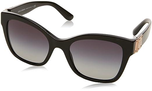 Dolce & Gabbana Damen Sonnenbrille 0DG4309 502/13, Braun (Havana/Browngradient), 53
