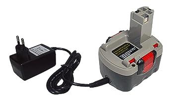 PowerSmart - Batería de ion de litio y cargador para Bosch ...