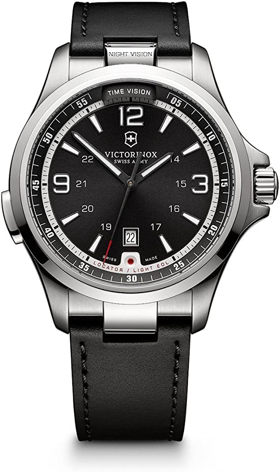 Amazon.com: Victorinox Swiss Army Night Vision Watch ...