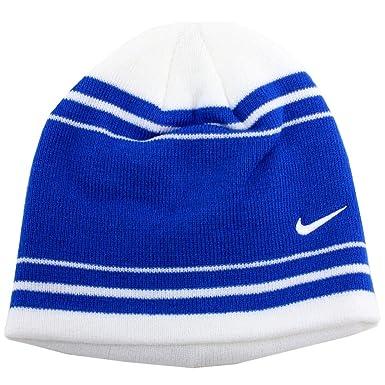 b6d55af502e6 Nike pour garçon à Rayures contrastées en Tricot Bonnet d hiver Chapeau,  Enfant,