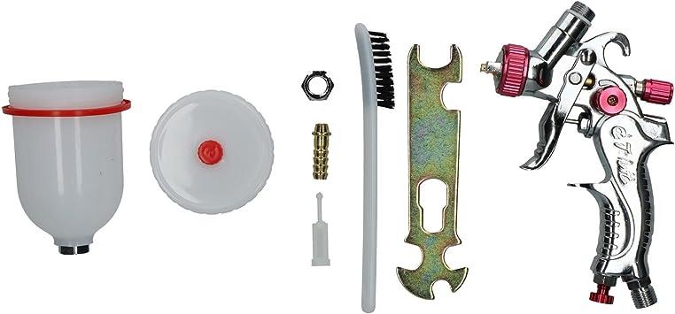 AB Tools-US Pro Mini HVLP Pistolet /à Peinture par pulv/érisation buse 0.8mm /à811