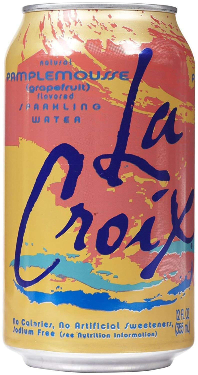 La Croix Pamplemousse Naturally Essenced Flavored Sparkling Water, 12 oz  Can (Pack of 48, Total of 576 Oz): Amazon.com: Grocery & Gourmet Food