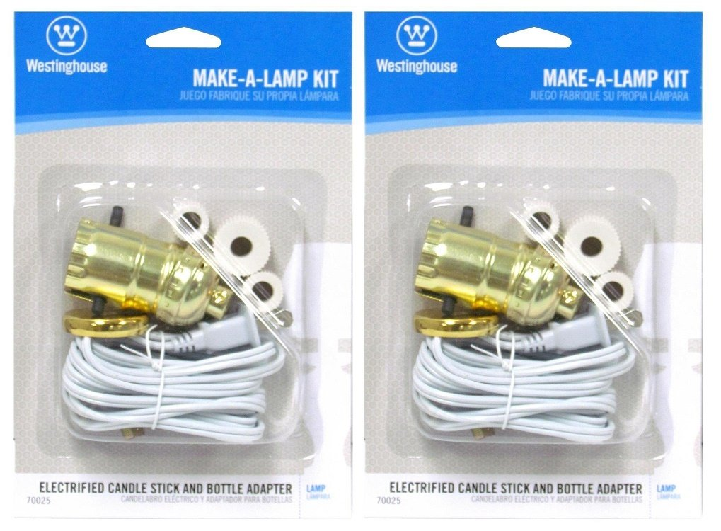 Westinghouse Lighting 70025 Corp Make-A-Lamp Kit - 2 Pack