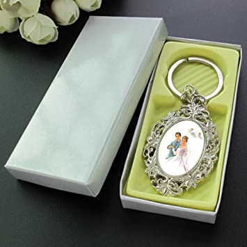 Wedding Keychain Party Favor (12 PCS)Gifts for Guest/ Souvenirs/ Llavero Boda