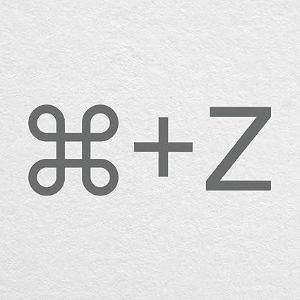 Amazon com : CMD+Z Undo Key Command - 6
