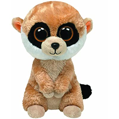 Ty Beanie Boos - Rebel the Meerkat: Toys & Games