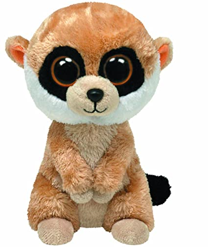 4e16cbca673 Image Unavailable. Image not available for. Color  Ty Beanie Boos - Rebel  the Meerkat
