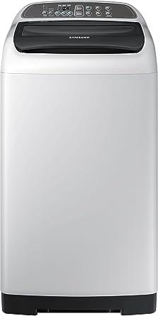 Samsung 6.5 kg Fully-Automatic Top Loading Washing Machine (WA65M4205HV/TL, Light Grey)