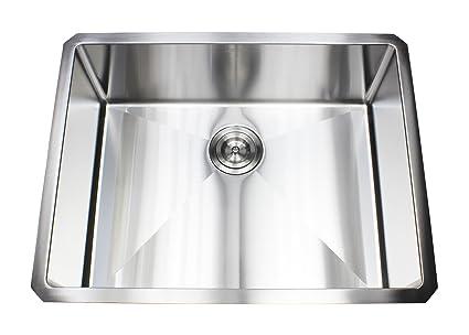 Single Bowl Kitchen Sinks Ariel 26 inch stainless steel undermount single bowl kitchen sink ariel 26 inch stainless steel undermount single bowl kitchen sink 15mm radius design workwithnaturefo