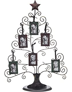 amazon com philip whitney metal family tree picture frames with 10