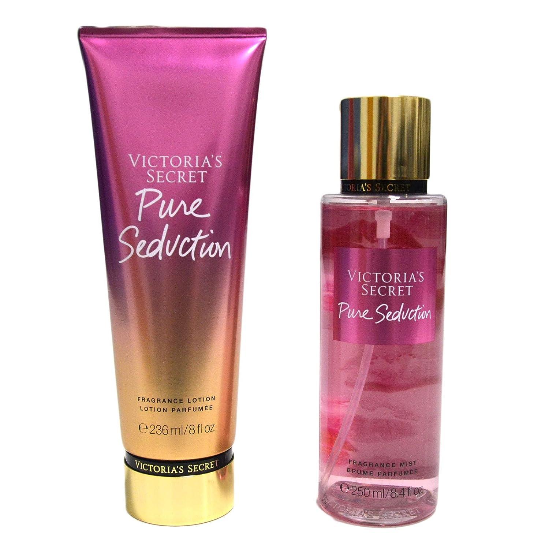 Victoria's Secret Pure Seduction Gift Set Fragrance Mist Body Lotion