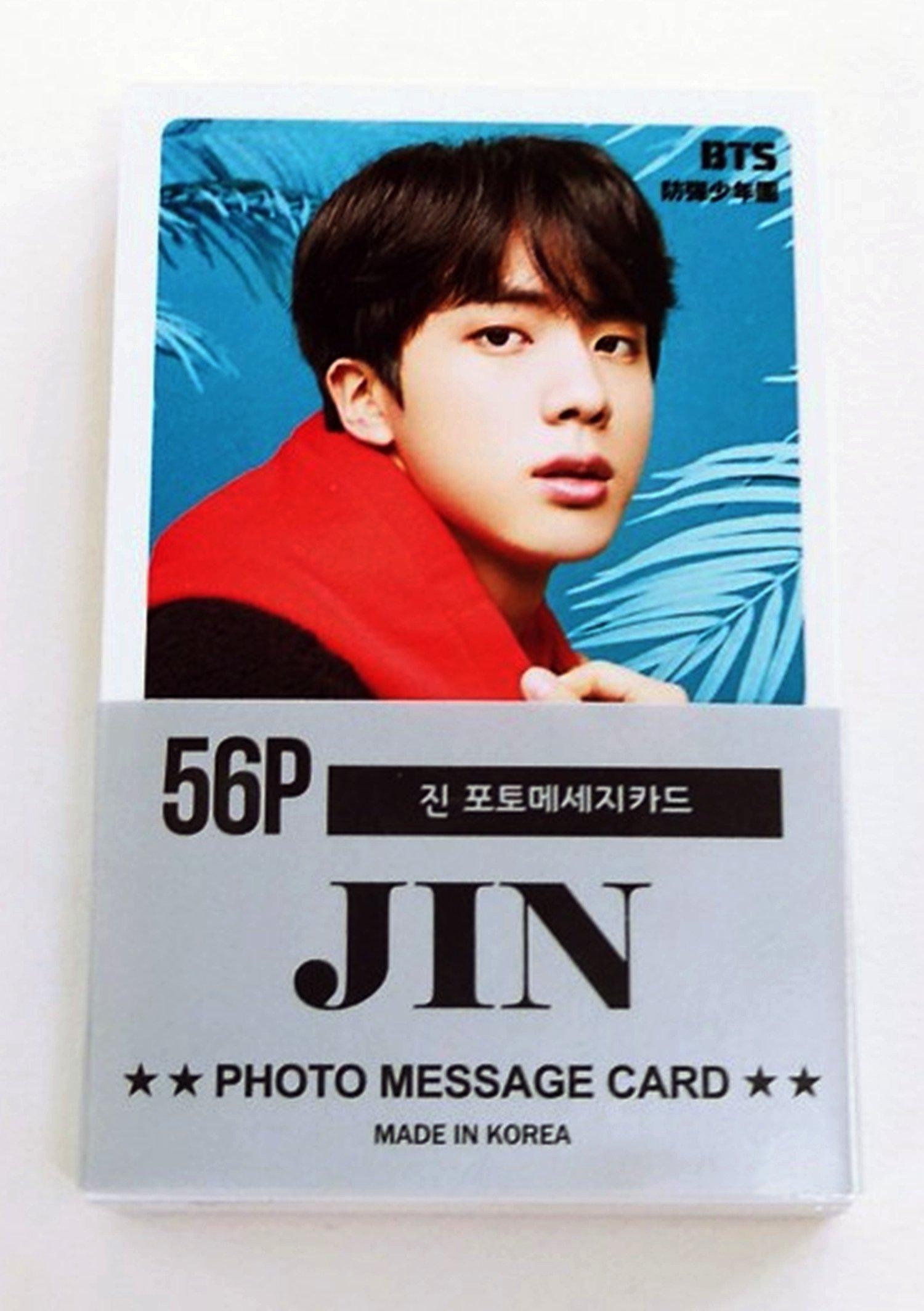 BTS JIN Solo Photocards 56pcs