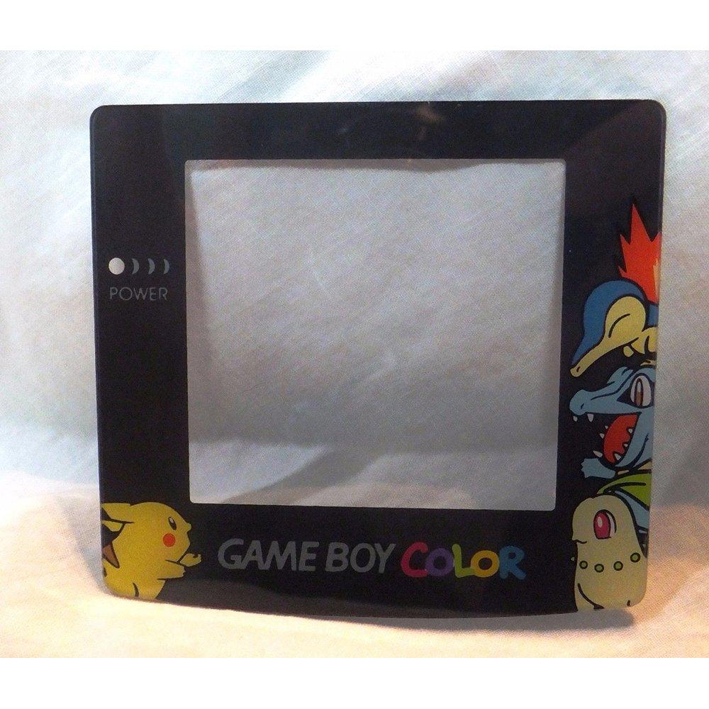 Game Boy Color (GBC) Screen Protector (Lens)- Pokemon/Pikachu SilverGold [4C,R]