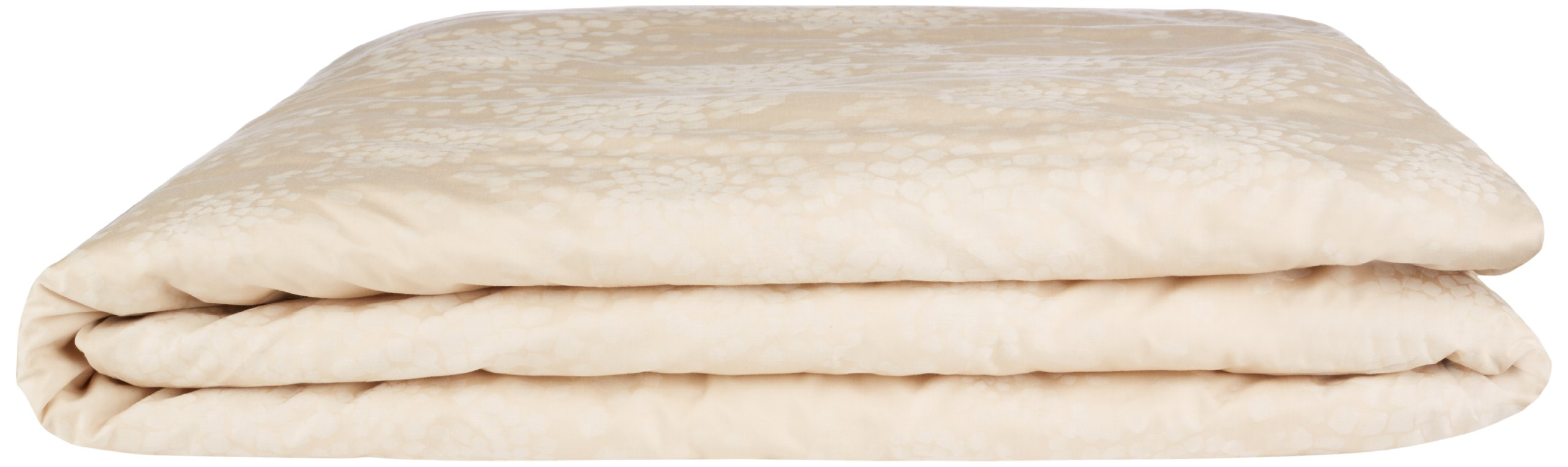Calvin Klein Home Katsura Duvet Cover, Queen, Wheat