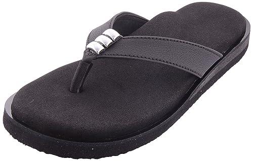 e7e61bd0f7c0 Dia One Black Grey Orthopedic Sandal Rubber Sole MCP Insole Diabetic  Footwear for Women (Dia 7