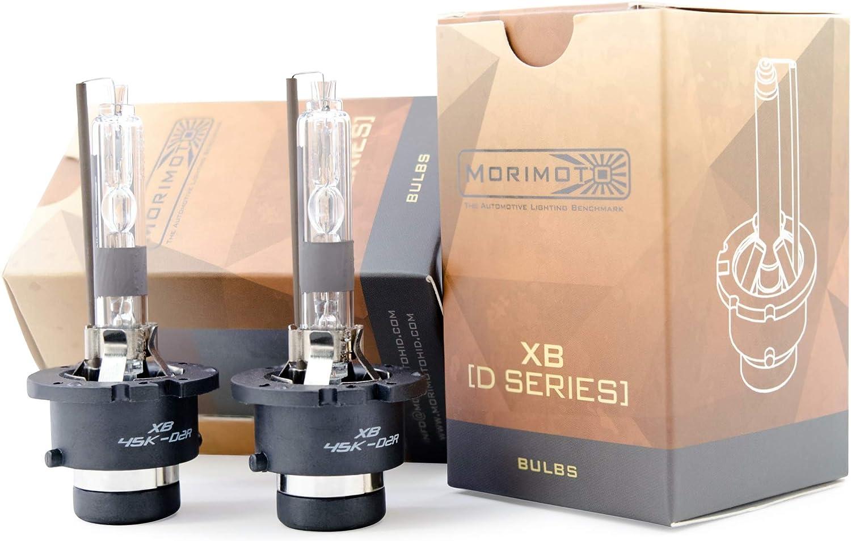 D2R XB 6500K Morimoto Kelvin Rating