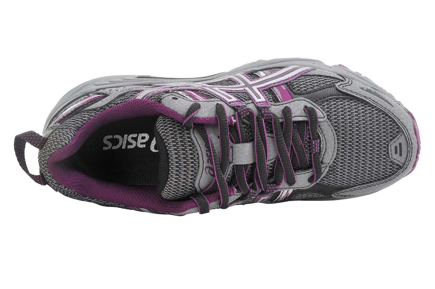 ASICS Women's Gel-Venture 5 Trail Running Shoe, Frost Gray/Gray/Silver/Magenta, 6 M US by ASICS (Image #6)