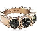 Dyrberg/Kern Damen-Ring Vergoldetes Metall Acara II rg grey 334372