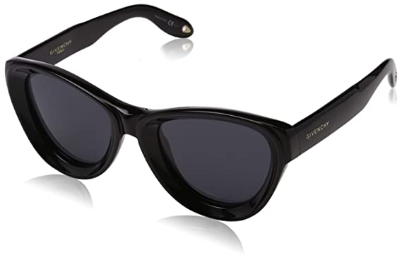 276ad896d30b Image Unavailable. Image not available for. Color: Givenchy GV7073/S 807  Black GV7073/S Cats Eyes Sunglasses ...