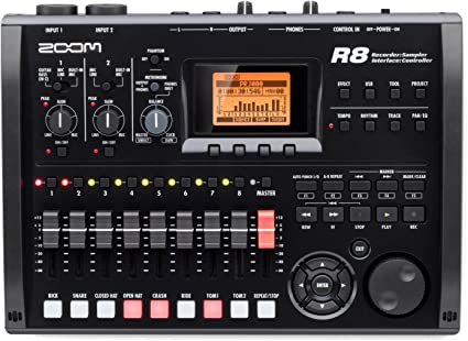 Zoom - R8 equipo grabador interface sampler. grabadora 2 pistas ...