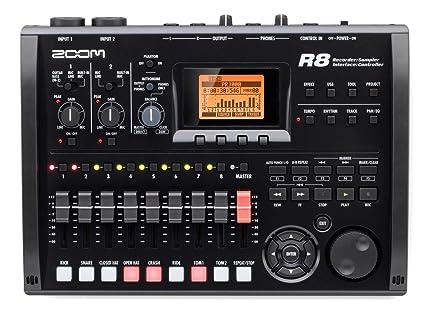 Zoom - R8 equipo grabador interface sampler. grabadora 2 pistas