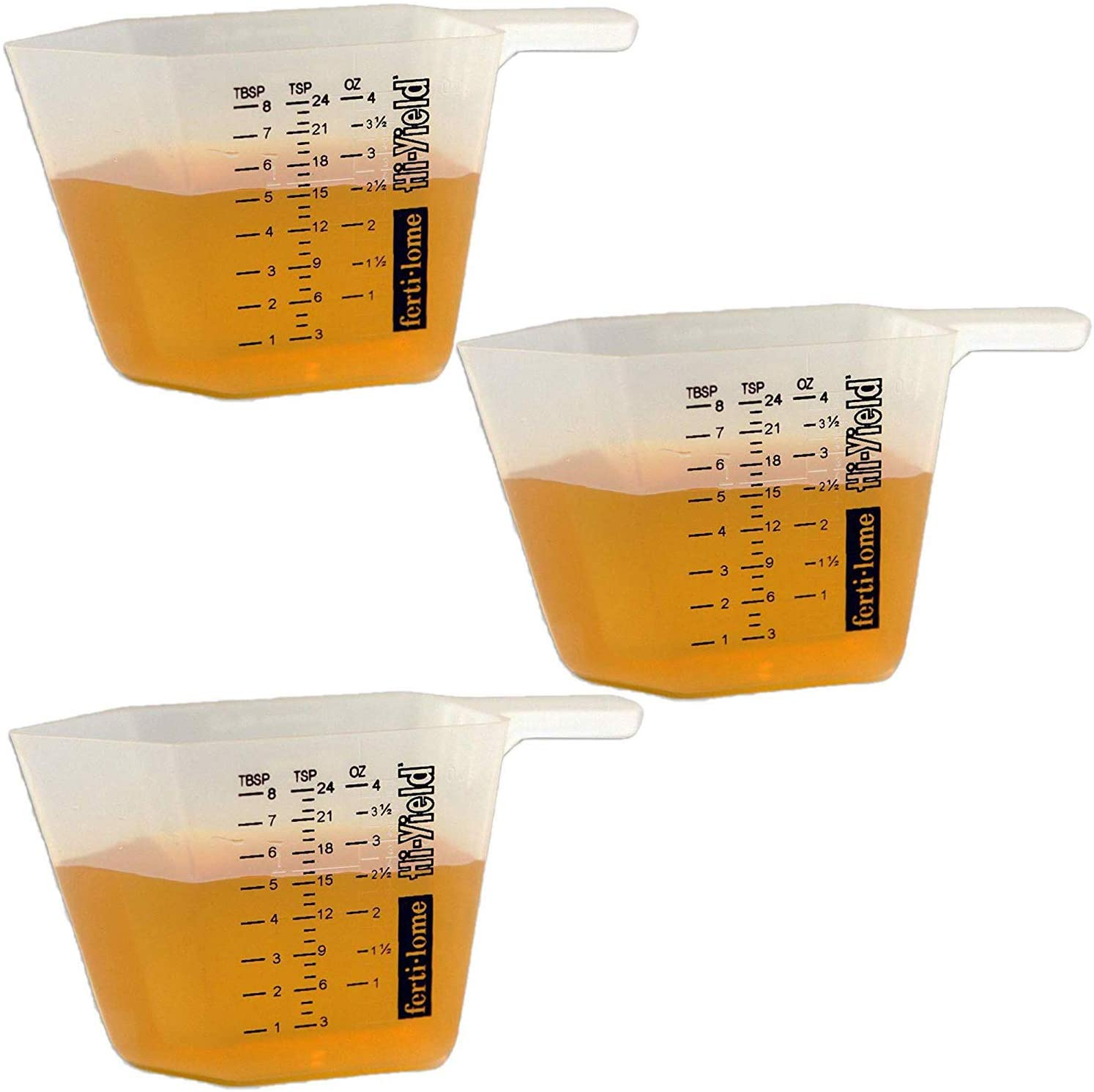 Vpg Fertilome 11008 4-Ounce Measuring Cup (3 Pack) (3)