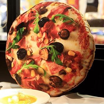 Cojines creativos CHENGYI Simulación Creativa Pizza Hold ...