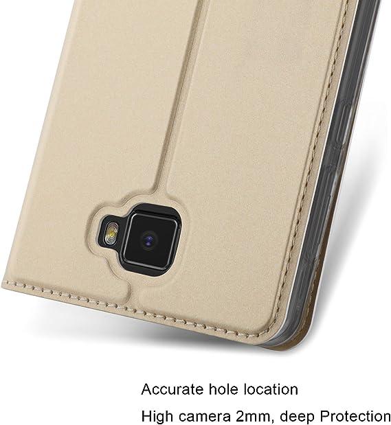 KuGi Elephone S8 Funda, Slim Flip Cover Carcasa Cubierta de Cuero ...