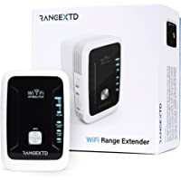 RANGEXTD WiFi Range Extender and Router - WiFi Booster for Home and Office | Up to 300mbps Long Range WiFi Repeater…
