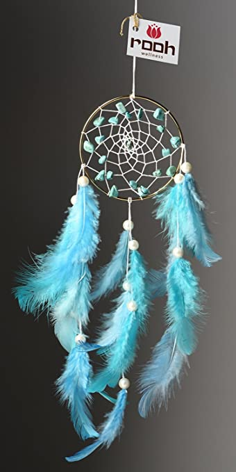 Rooh dream catcher tibetian stone handmade hangings for positivity used as home décor