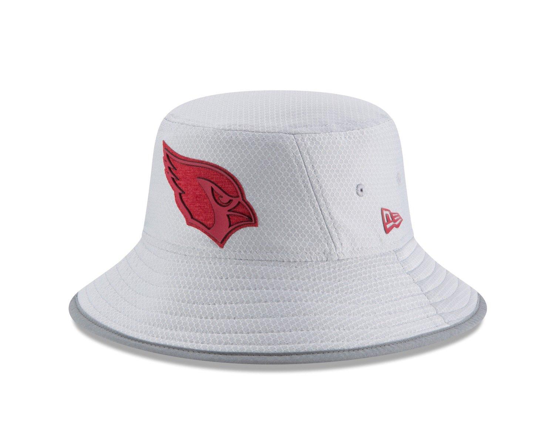 New Era Arizona Cardinals NFL 2018 Training Camp Sideline Bucket Hat - Gray