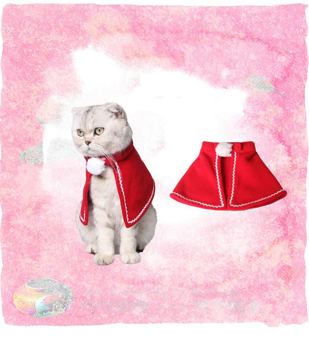 Smoro Autunno Inverno Cani Abbigliamento Cane Costume Vestiti Pet Dog Cat Christmas Santa Suit con Claus cap