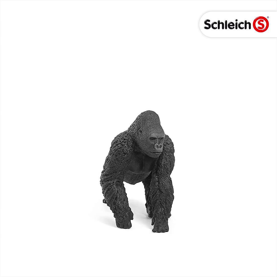 Schleich- Figura de Gorila Macho, Color Negro, 9,4cm: Amazon.es ...