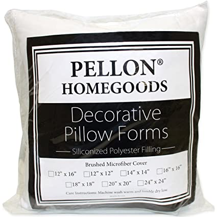 Amazon Pellon PPI40X40 Decorative Pillow Form 40 By 40 Enchanting Decorative Pillow Forms