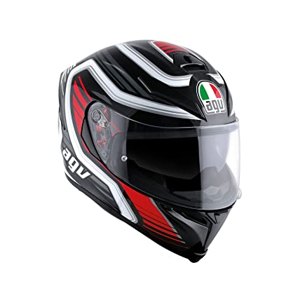 AGV K5 S Darkstorm Black Red Size XL