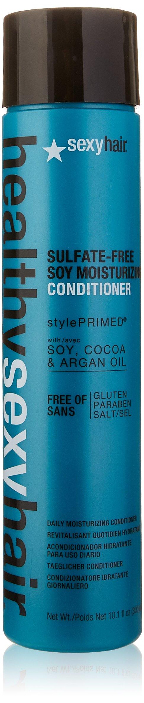 Sexy Hair Healthy Sexy Hair Color Safe Soy Moisturizing Conditioner, 10.1 Fluid Ounce