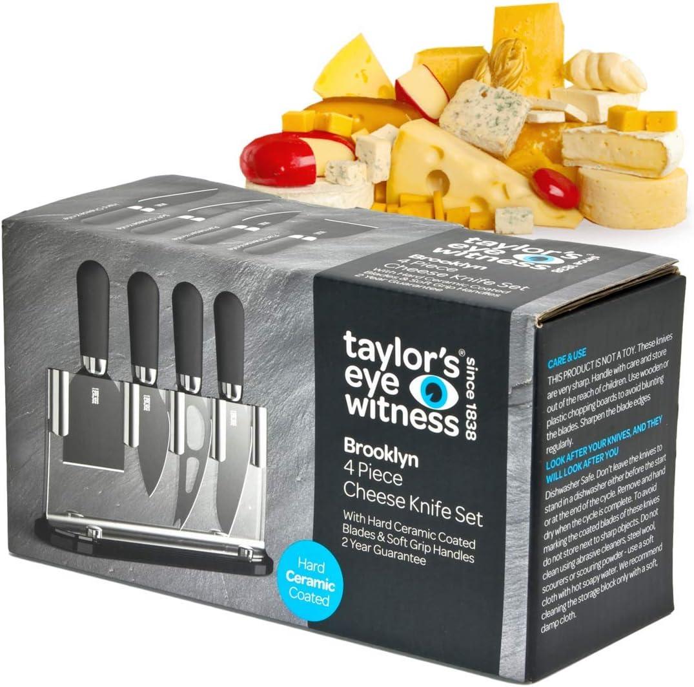 Cuchillos De Queso Y Soporte Brooklyn De Taylors Eye Witness. Cobre