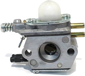Busirde Carburatore per Echo HC1500 tagliasiepi 12.520.005,962 Mila per Kit Zama C1U-K51-K52 C1U ECHO-SRM2100-GT2000-GT2100-PAS2000 Linea Fuel