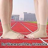 TOFLY Plantar Fasciitis Socks for Women Men, True