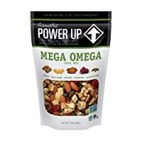 Power Up Trail Mix, Mega Omega Trail Mix, Non-GMO, Vegan, Gluten Free, No Artificial...