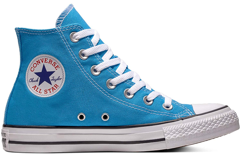 Bleu (bleu Hero 400) Converse CTAS Hi, Chaussures de Fitness Mixte Adulte 43 EU