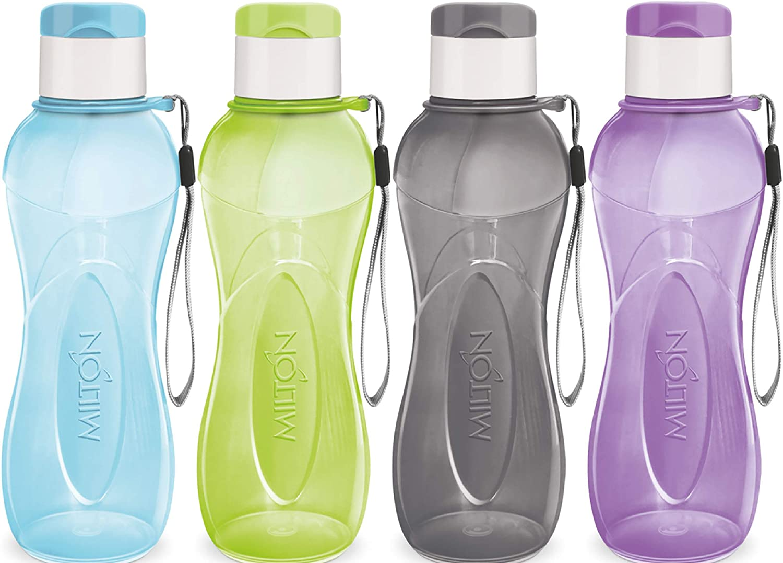 Bike Water Bottle with Lid Handle Large Capacity 1L Leakproof Drinking Bottles
