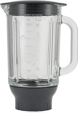 Kenwood KAH358GL Accesorio Batidora de vaso Thermoresist compatible con Robots de Cocina Kenwood Chef y Major, 1.6 L, transparente y negro: Amazon.es: Hogar